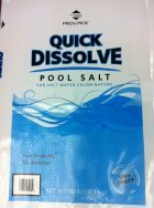 quick dissolve pool salt