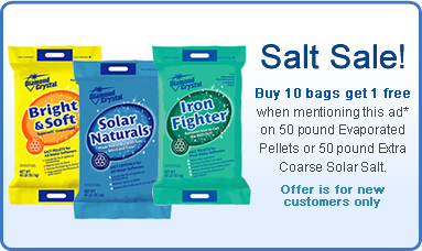 Peterson Salt Sale for new customers