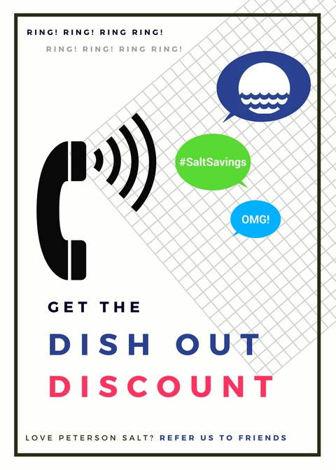 DISH OUT DISCOUNT