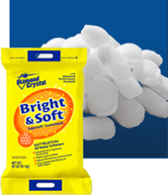 bright soft diamond crystal salt for water softeners