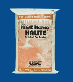 melt away halite sidewalk salt